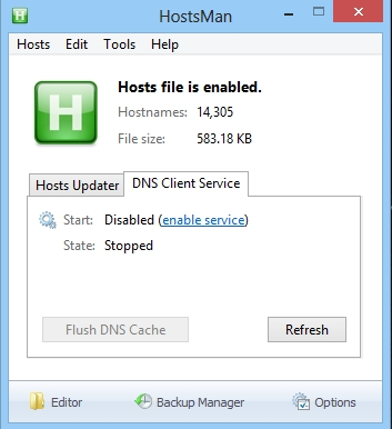Blocking Unwanted Connections with a Hosts File
